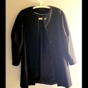 Zara Basic Outerwear black Jacket